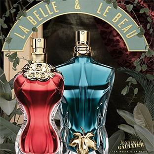 Échantillons gratuits des parfums La Belle et Le Beau de Jean Paul Gaultier