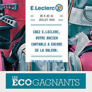 mode designer 542f4 2192c Reprise ancien cartable Leclerc : 10€ offerts en bon d'achat