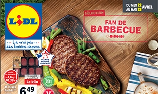 Catalogue Lidl Fan de barbecue du 22 au 28 avril 2020
