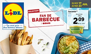 Catalogue Lidl Fan de barbecue du 17 au 23 juillet 2019