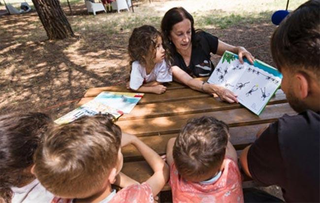 Animations est espaces lectures pour enfants Vinci Autoroutes