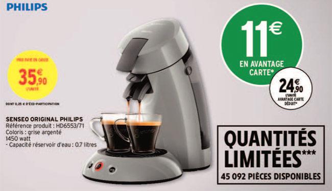 Machine à café Senseo Philips à petit prix