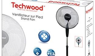 Promo Boulanger : ventilateur Techwood pas cher