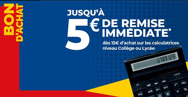 Retirer vote coupon de 5€ de remise avec Carrefour Market