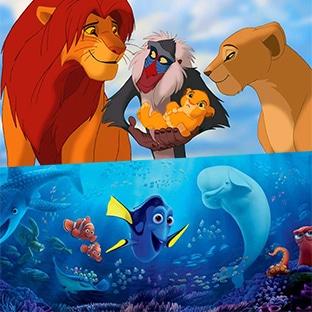 Le Roi Lion et Le monde de Dory pour la 1ère fois en clair à la TV