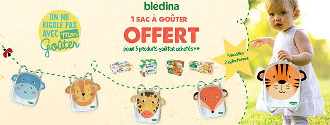 Jusqu'à 5 sacs à goûter animaux pour enfants offerts