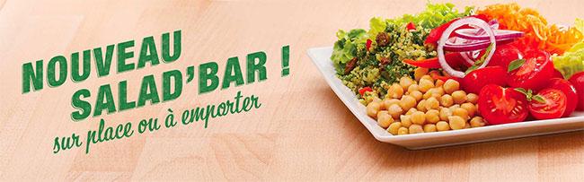 Nouveau Salad'Bar de Flunch