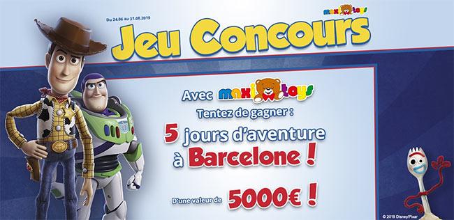 Gagnez un séjour à Barcelone avec Toy Story