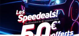 Bon Speedeals Speedy : remise immédiate offert