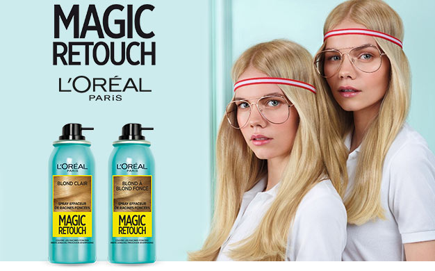 Testez gratuitement le spray Dark Reboot Magic Retouche de L'Oréal