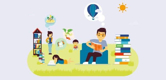 Vinci Autoroutes : Lire, c'est voyager ; voyager, c'est lire
