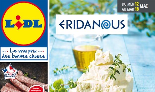 Catalogue Lidl Eridanous (saveurs de la Grèce) du 12 au 18 mai 2021