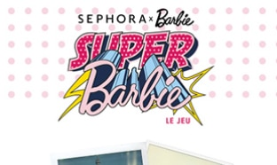 Jeu Sephora : Coffret make-up Barbie à gagner
