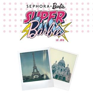 Jeu Sephora : Coffret make-up Barbie à gagner