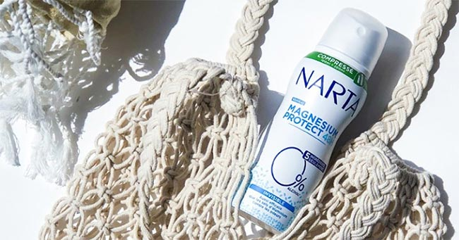 Testez gratuitement le déodorant compressé Narta Magnésium Protect
