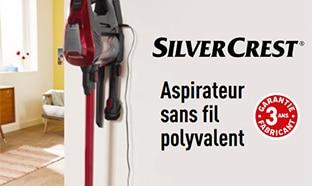 Promo Lidl : Aspirateur cyclonique SilverCrest pas cher