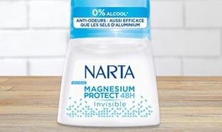 Test Aufeminin : Déodorant Magnésium Protect Narta gratuit