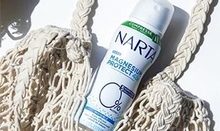 Test Auféminin : Déodorant Magnésium Protect Narta gratuit