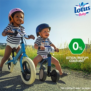 Test Sampleo : Couches Natural Touch Lotus Baby gratuites