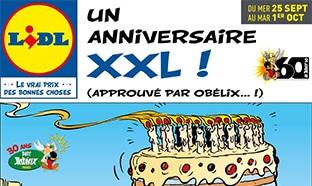 Catalogue Lidl «Anniversaire XXL» du 25 sept au 1er oct 2019