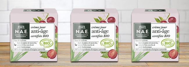 tester gratuitement la crème de jour anti-âge N.A.E