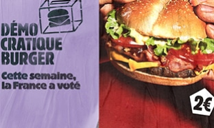 Vote Démocratique Burger King : Burger à 2€