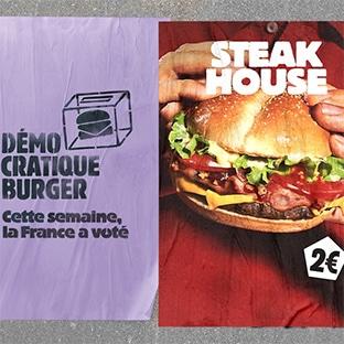 Vote Démocratique Burger King : Burger à 2€