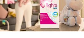 Obtenez un échantillon gratuit de lights by TENA