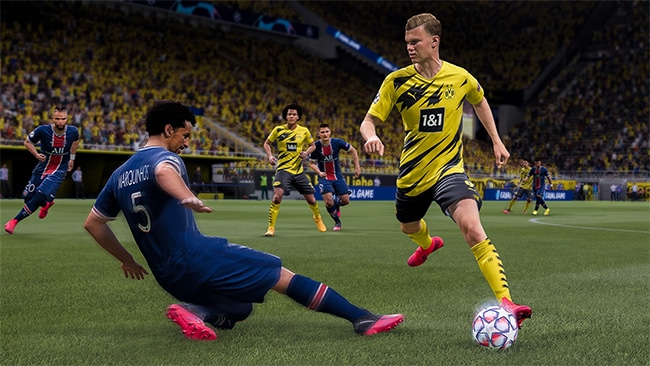 FIFA 21 en promo à petit prix