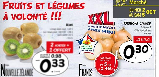 Obtenez 5 kilos d'oignons jaunes à moindres frais chez Lidl