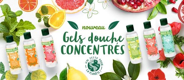 Tentez de tester gratuitement le gel douche concentré Le Petit Marseillais
