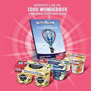 Jeu Mamie Nova : Séjours et Wonderbox à gagner