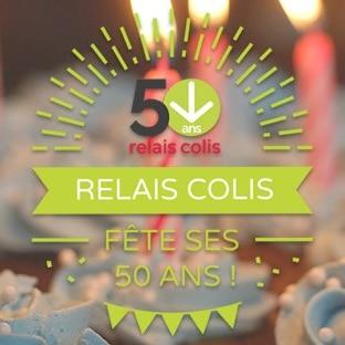 Jeu 50 ans Relais Colis : 50 cadeaux à gagner