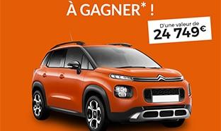Jeu Blancheporte : Voiture Citroën C3 Aircross à gagner