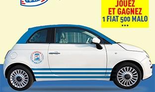 Jeu 70 ans Malo : Voiture Fiat 500 à gagner