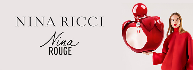 Recevez une dose d'essai gratuite du parfum Nina Rouge de Nina Ricci