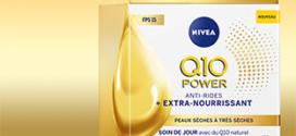 Test Nivea : Crème anti-rides Extra-Nourrissante Q10 gratuites
