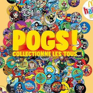 Jouet Happy Meal McDo : 200 Pogs à collectionner