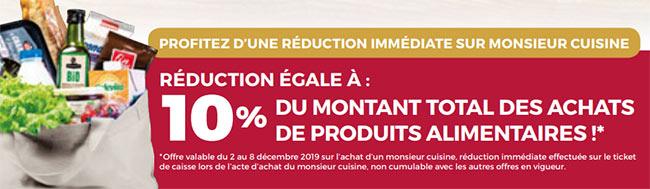 Promo: Réduction robot Monsieur Cuisine Connect