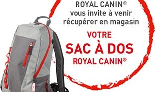 Bon plan Royal Canin : Sacs à dos offerts