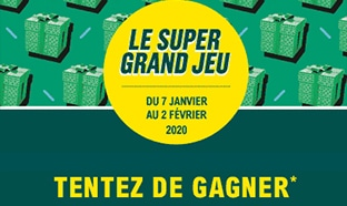Super Grand Jeu Leclerc : Jeu avec carte à gratter et code