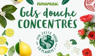Test Le Petit Marseillais : Gels douches concentrés gratuits
