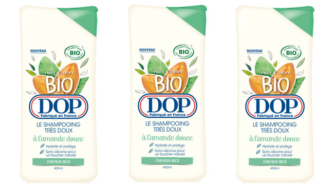testez un shampooing fruité bio DOP avec Doctissimo