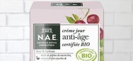 Test Doctissimo : 100 crèmes de jour anti-âge Bio N.A.E gratuits