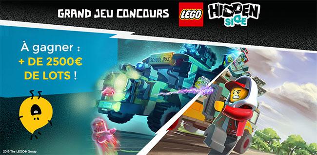 cadeaux LEGO Hidden Side à remporter avec Picwictoys