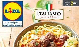 Catalogue Lidl Italiamo du 19 au 25 février 2020