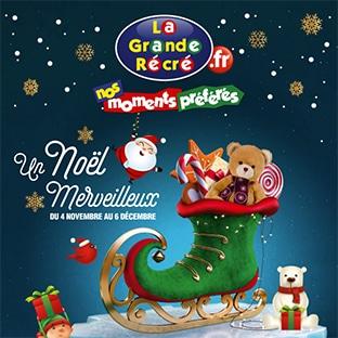 Catalogue jouets de Noël La Grande Récré 2020 et promos