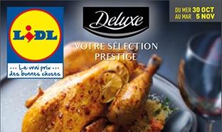 Catalogue Lidl Deluxe du 30 octobre au 5 novembre 2019
