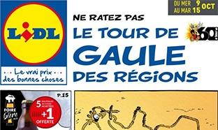 Catalogue Lidl «Tour de Gaule des régions» (9-15 octobre 2019)