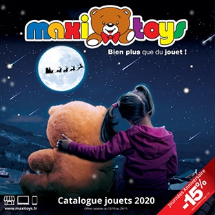 Catalogue Maxi Toys Noël 2020 gratuit
